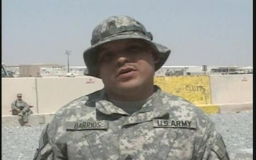 Sgt. Alex Barrios