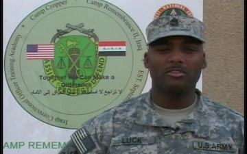 Staff Sgt. Demetris Luck