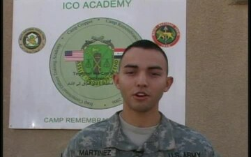 Spc. Jose Martinez