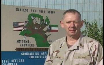 Petty Officer 1st Class David Beaumont