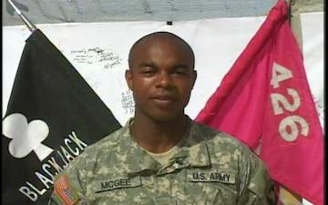 Spc. Jeremiah McGee