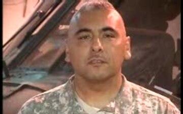 1st Sgt. Juan Esquivel