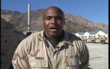 Tech. Sgt. James Thomas