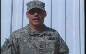 Sgt. 1st Class  Alzona