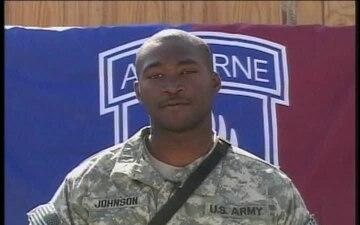 Sgt. Robert Johnson