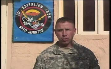 Command Sgt. Maj. Jeffrey Koenig