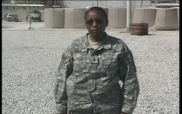 Chief Warrant Officer Martha Irving