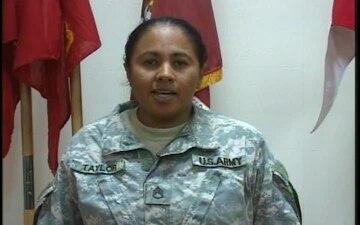 Staff Sgt. Yanira Taylor