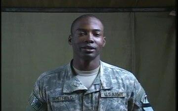 1st Lt. Thomas Whitfield