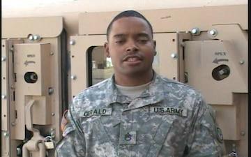 Staff Sgt. Brandon Gerald