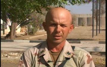 Petty Officer 1st Class Michael Howarth