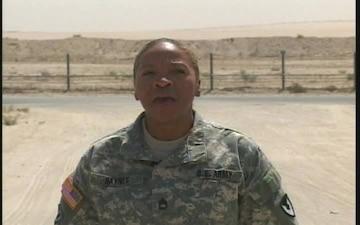 Sgt. 1st Class Eunice Haynes