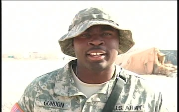 Pfc. CORY GORDON