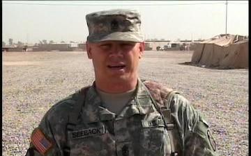 1st Sgt. DANIEL SEEBACK