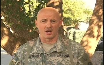 Sgt. Maj. STEVE WHITTAKER