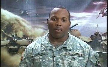 Staff Sgt. Dealo Adams
