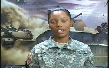 Pvt. Rachel Brown