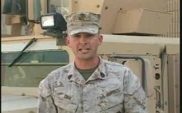 Gunnery Sgt. Chris Cox