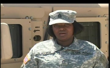Master Sgt. Roxie Blackmon
