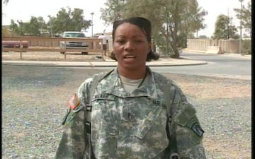 Chief Warrant Officer SARAH WALKER