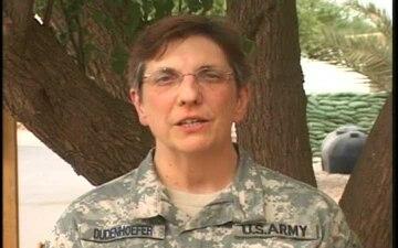 Maj. MARY DUDENHOEFER