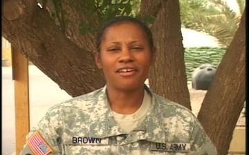 Master Sgt. BARBARA BROWN
