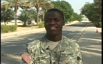 Spc. George Yeanue