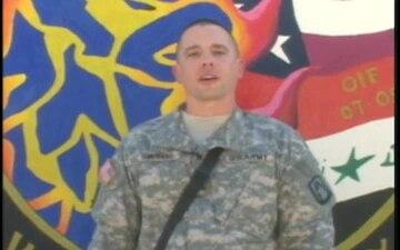 Sgt. AARON SIMERARO