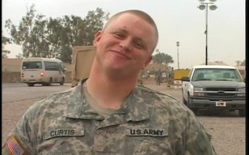 Spc. CHRISTOPHER CURTIS