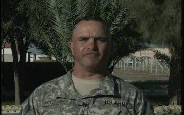 Command Sgt. Maj. Allen Fritzsching