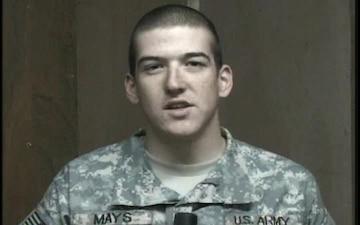 Spc. Jacob Mays