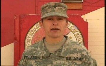 Spc. Esther Villarreal