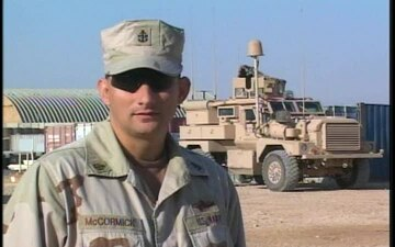 Senior Chief Petty Officer Sirus McCormick