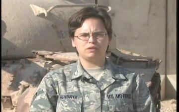 Senior Airman Amanda Hendrix
