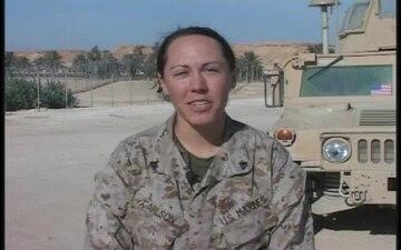 Cpl. Caitlin Carlson