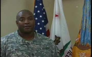Sgt. 1st Class Ronald Mays