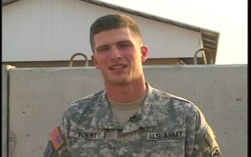 Staff Sgt. Adam Yoest