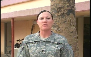 Spc. Rhonda Buffington