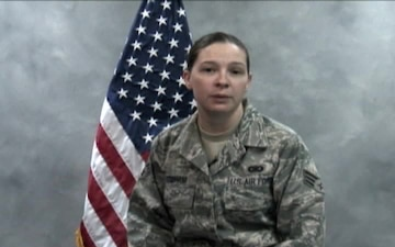 Senior Airman Heather Stidham