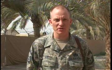 Senior Master Sgt. Randy Elie