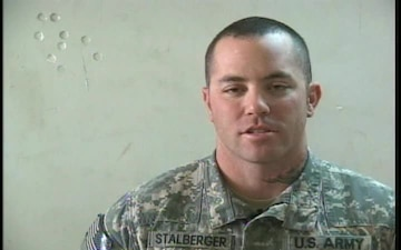 Sgt. Clay Stalberger
