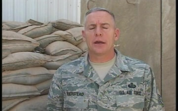 Chief Master Sgt. Thomas Kierstead