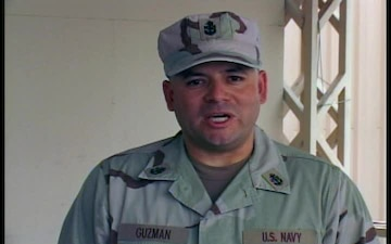 Chief Petty Officer Raul Guzman