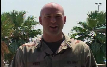 Lt.j.g. Andrew Weiss