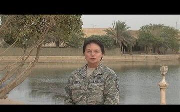 Chief Master Sgt. Brenda Blonigen