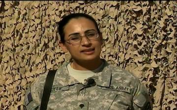 Spc. Lina Alsudani