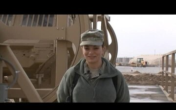 Senior Airman Susan Tracy