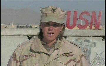 Petty Officer 2nd Class Mandy Maddocks