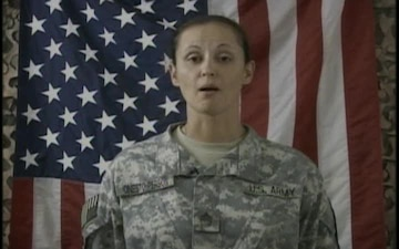 Sgt. 1st Class Gina Onesto-Person