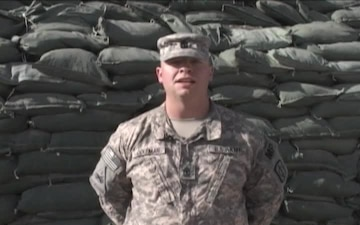 1st Sgt. Chris Coleman